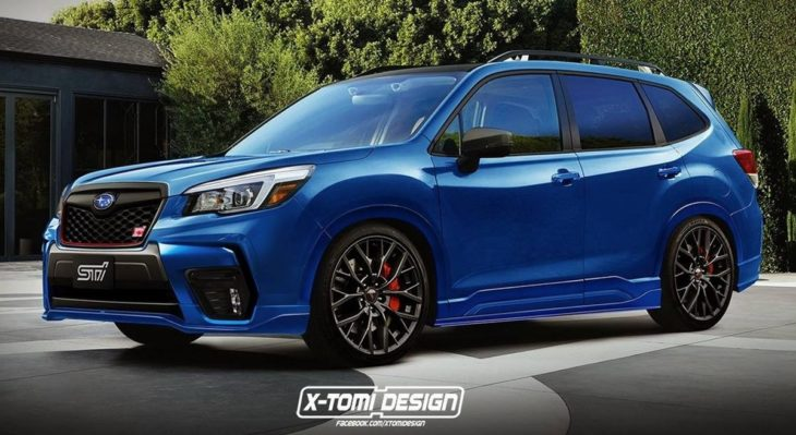 Subaru Forester STI 730x399 at 2020 Subaru Forester STI Might Be on the Cards