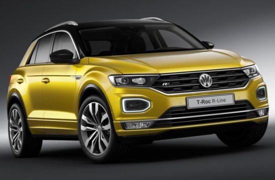 Volkswagen T Roc R Line 550x360 at 2019 VW T Roc R Line & Tiguan R Line   UK Pricing and Spec
