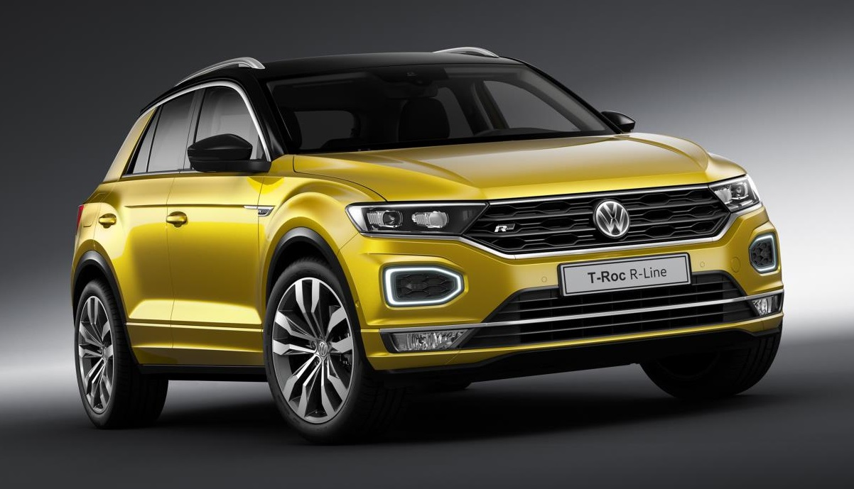 2019 vw t roc r line tiguan r line uk pricing and spec. Black Bedroom Furniture Sets. Home Design Ideas