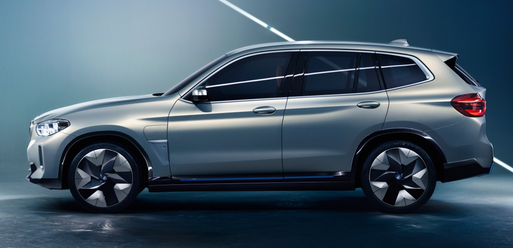 BMW iX3 Concept Previews Future Electric X3