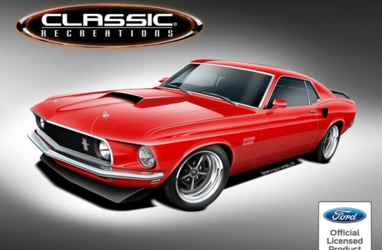 boss mustang restomod 550x360 at Classic Recreations to Build Continuation Boss and Mach 1 Mustangs