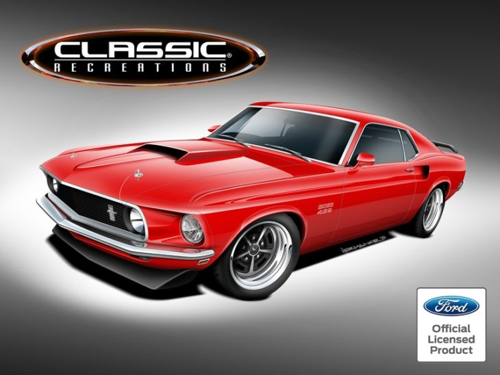 boss mustang restomod 730x548 at Classic Recreations to Build Continuation Boss and Mach 1 Mustangs
