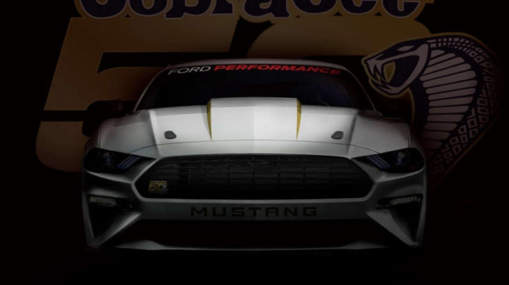 cobra jet 2018 730x410 at 2018 Mustang Cobra Jet Announced with Coyote V8