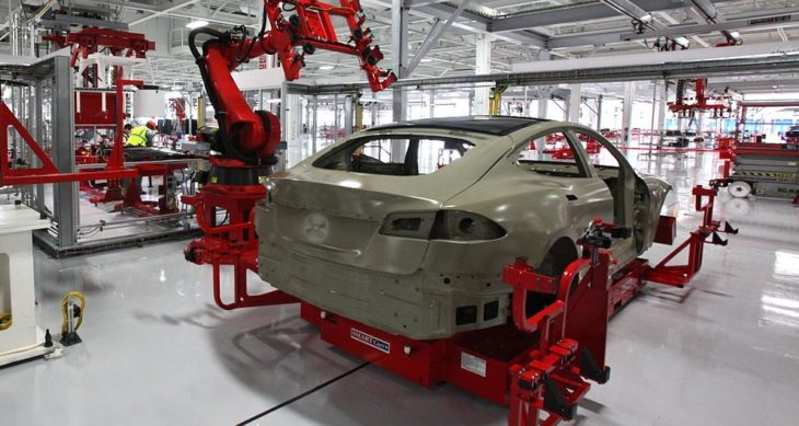 electric car production line 1 730x389 at Massive Job Loss on Horizon for Auto Workers