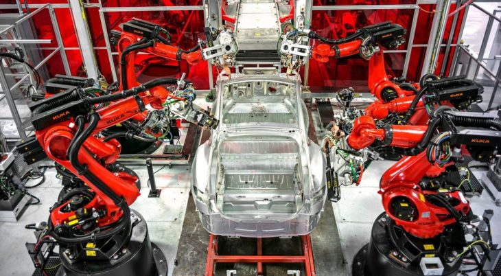 electric car production line 730x402 at Massive Job Loss on Horizon for Auto Workers