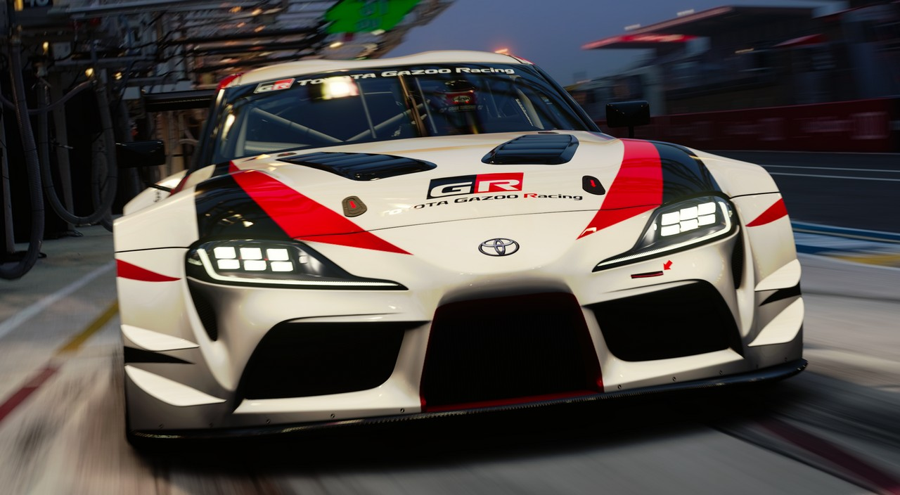 toyota supra gr racing launches in gran turismo sport. Black Bedroom Furniture Sets. Home Design Ideas