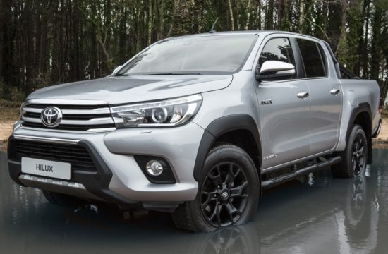 hiluxinvincible50blackedition 550x360 at Toyota Hilux Invincible 50 Black Edition Marks Half a Century of Toughness