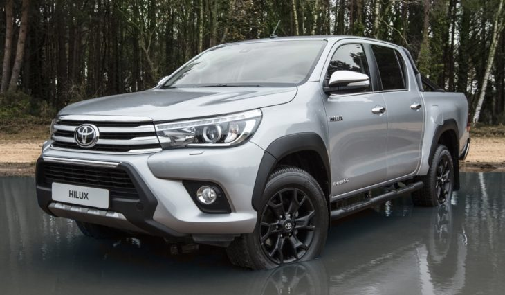 hiluxinvincible50blackedition 730x426 at Toyota Hilux Invincible 50 Black Edition Marks Half a Century of Toughness