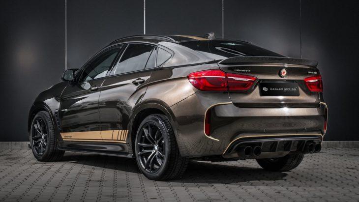 manhart bmx x6 carlex 12 730x411 at Manhart BMW X6 Gets Fancy Carlex Interior