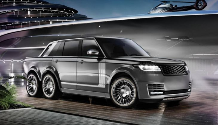 range rover 6x6 2 1 730x420 at Range Rover 6x6 Pickup Proposed by Coachbuilder