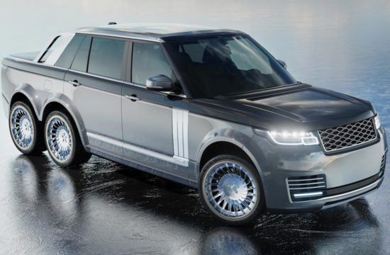 range rover 6x6 2 550x360 at Range Rover 6x6 Pickup Proposed by Coachbuilder