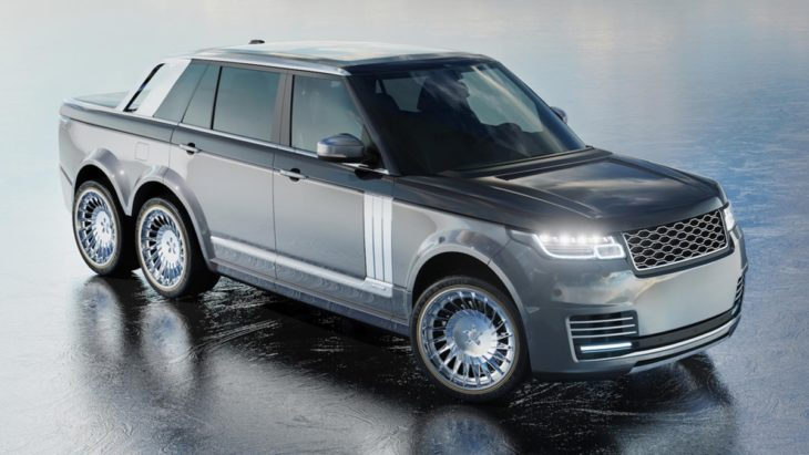 range rover 6x6 2 730x411 at Range Rover 6x6 Pickup Proposed by Coachbuilder