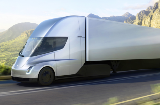 tesla truck 550x360 at How the Tesla Truck is Going to Change the Trucking Industry