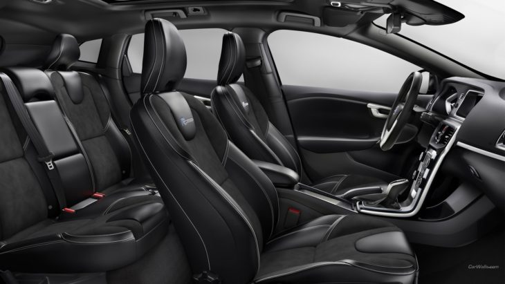 volvo v40 rdesign seats 2018 730x411 at Cars Over the Century: The History of Seat Cover Styles