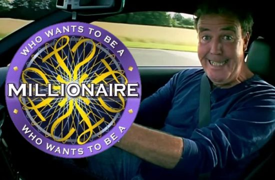 who wants to be millionaire clarkson 550x360 at Jeremy Clarkson Asks Who Wants to Be a Millionaire?