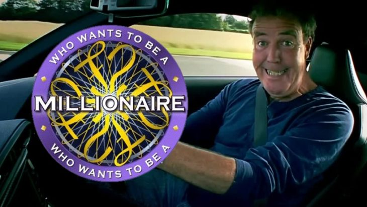 who wants to be millionaire clarkson 730x411 at Jeremy Clarkson Asks Who Wants to Be a Millionaire?