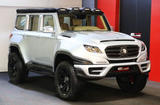 2 MERCEDES BENZ G63 XRAID ARES 1X226869 550x360 at ARES X Raid Is a Coachbuilt Mercedes G63 AMG