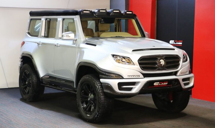 2 MERCEDES BENZ G63 XRAID ARES 1X226869 730x437 at ARES X Raid Is a Coachbuilt Mercedes G63 AMG