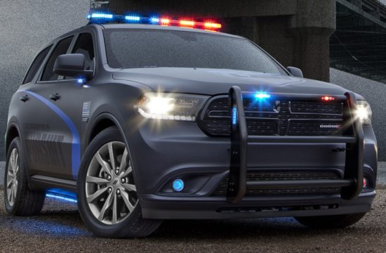 2018 Dodge Durango Pursuit 1 550x360 at Official: 2018 Dodge Durango Pursuit Police Car