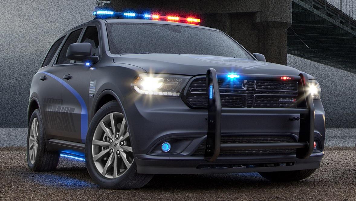 Official: 2018 Dodge Durango Pursuit Police Car