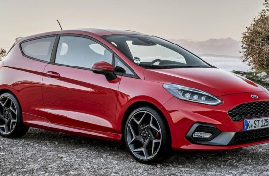 2018FordFiestaST RaceRed 01 550x360 at 2018 Ford Fiesta ST (UK Spec) Starts at £18,995