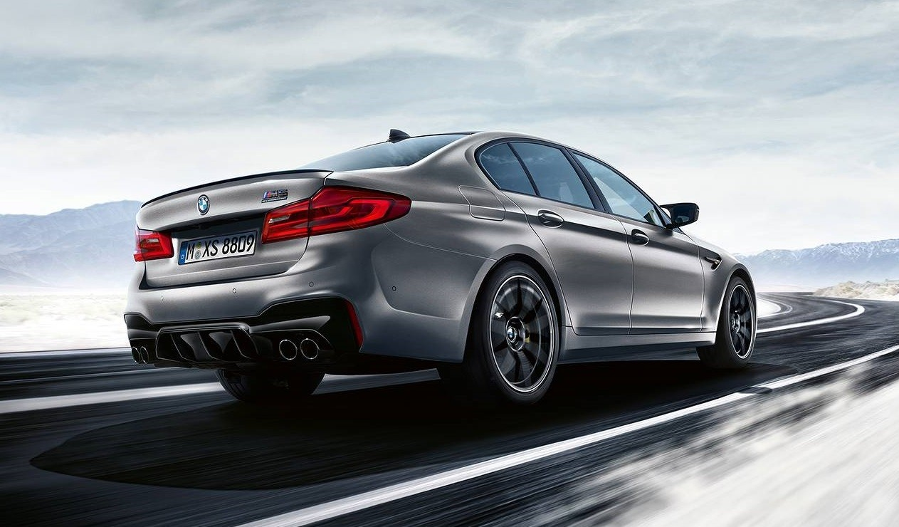 2019 Bmw M5 Competition Revealed With 617 Hp