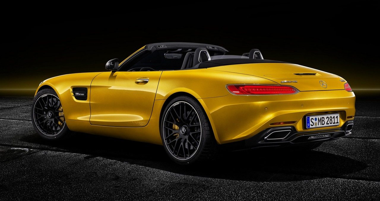 Official 2019 mercedes amg gt s roadster for Mercedes benz amg vision gt price