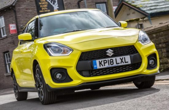 2019 Suzuki Swift Sport 1 550x360 at 2019 Suzuki Swift Sport   UK Pricing and Specs