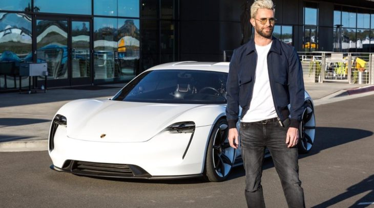Maroon 5 S Adam Levine Sample S Porsche Mission E