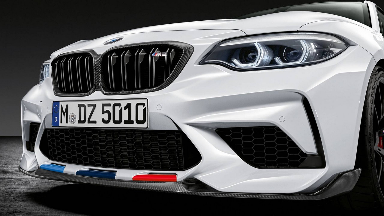 bmw m2 competition m performance parts revealed. Black Bedroom Furniture Sets. Home Design Ideas
