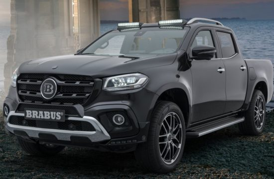 Brabus X Class 1 550x360 at Brabus Mercedes X Class Tuning Package Revealed