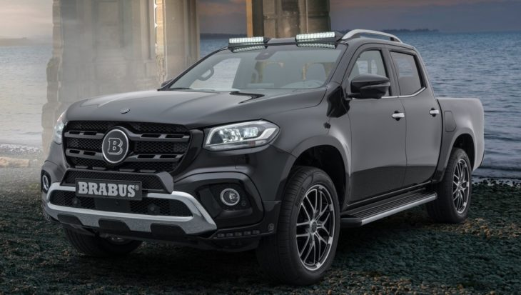 Brabus X Class 1 730x413 at Brabus Mercedes X Class Tuning Package Revealed