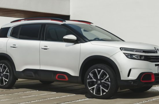 Citroen C5 Aircross 1 550x360 at 2019 Citroen C5 Aircross Is Family SUV Par Excellence
