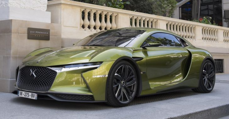 DS E Tense Concept Car 730x381 at DS Automobiles Announces Full Electrification from 2025