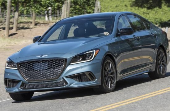 Genesis G80 Sport 550x360 at 2018 Genesis G80 Sport Gets Five Star Safety Rating