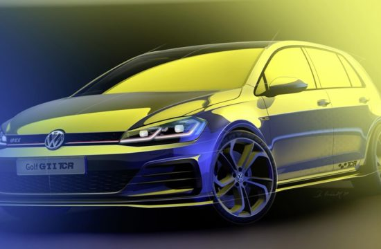 Golf GTI TCR 1 550x360 at Road Going Golf GTI TCR Set for Wörthersee Debut