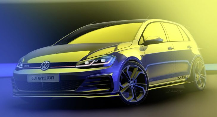 Golf GTI TCR 1 730x392 at Road Going Golf GTI TCR Set for Wörthersee Debut