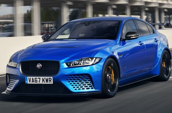 Jaguar XE SV Project 8 Goodwood 1 550x360 at Jaguar XE SV Project 8 Tested at Goodwood Circuit
