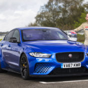 Jaguar XE SV Project 8 Goodwood 2 175x175 at Jaguar XE SV Project 8 Tested at Goodwood Circuit