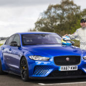Jaguar XE SV Project 8 Goodwood 3 175x175 at Jaguar XE SV Project 8 Tested at Goodwood Circuit
