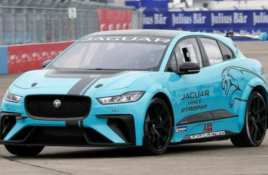 Jaguar I PACE eTROPHY Global Debut 8 550x360 at Jaguar I PACE eTROPHY Makes Unceremonious Track Debut