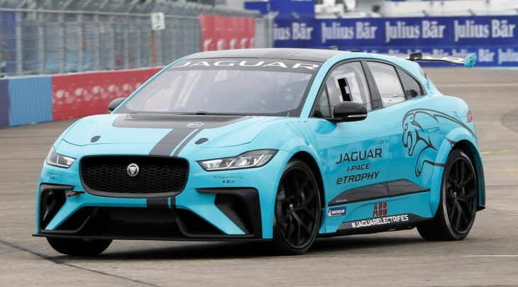 Jaguar I PACE eTROPHY Global Debut 8 730x405 at Jaguar I PACE eTROPHY Makes Unceremonious Track Debut
