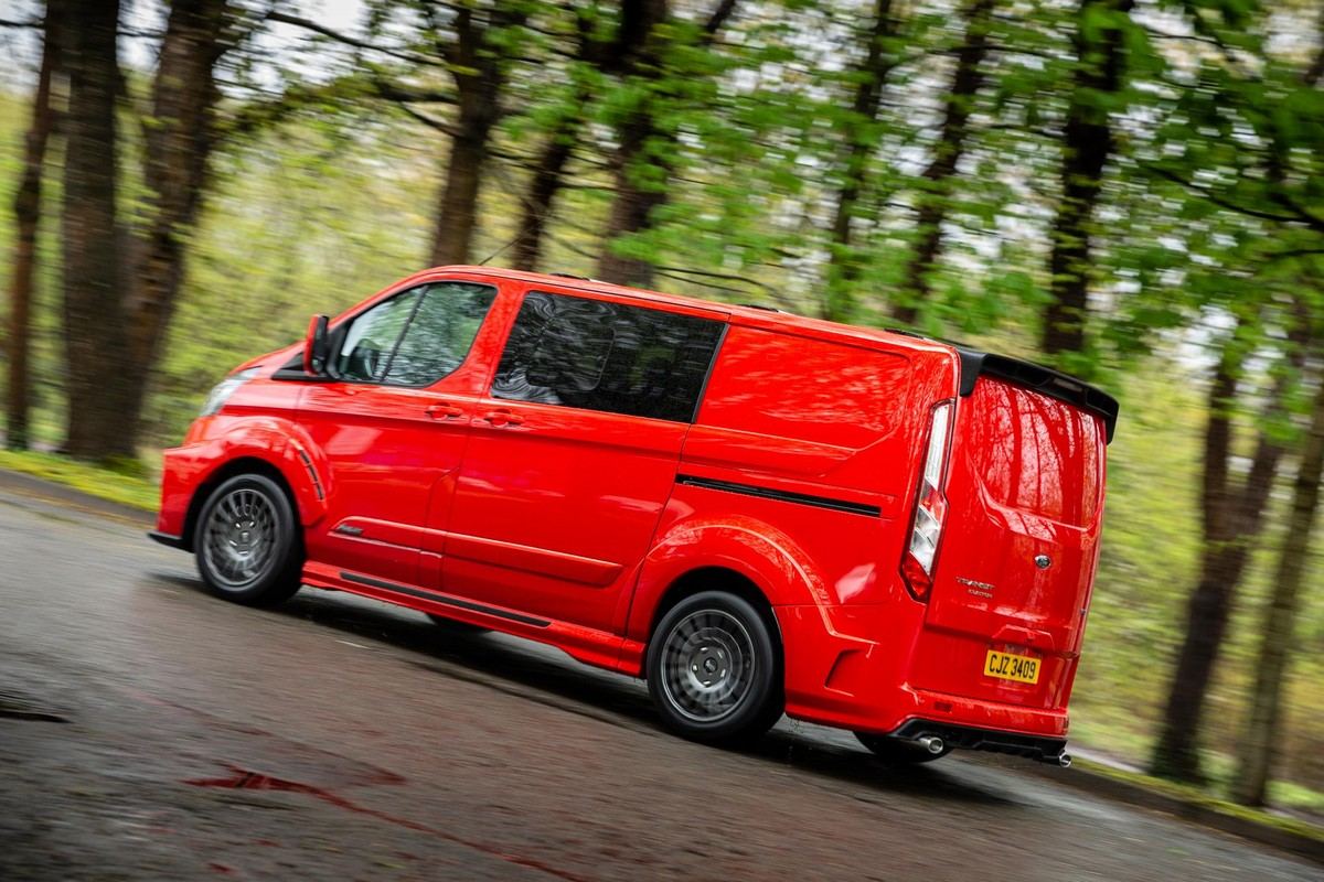Ford Transit Custom Sport 2018 >> MS-RT Ford Transit Custom Makes Vanning Fun!