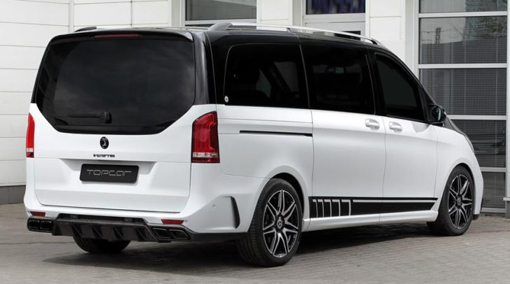 Mercedes Benz V class INFERNO 10 1 730x406 at TopCar Mercedes V Class INFERNO Is a Van for Batman Villains