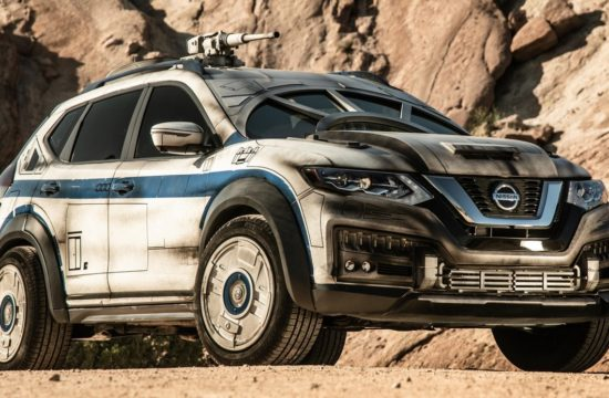 Millennium Falcon Nissan Rogue 1 550x360 at Millennium Falcon Nissan Rogue Revealed for Latest Star Wars Movie