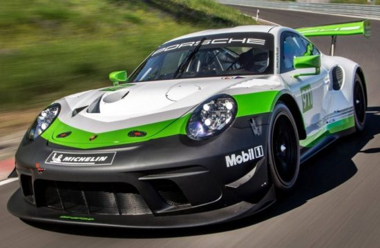 Porsche 911 GT3 R 0 550x360 at Porsche 911 GT3 R Race Car Revealed for 2019 Season