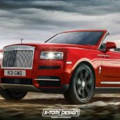 Rolls Royce Cullinan Drophead Coupe 175x175 at Rolls Royce Cullinan Rendered in Various Guises