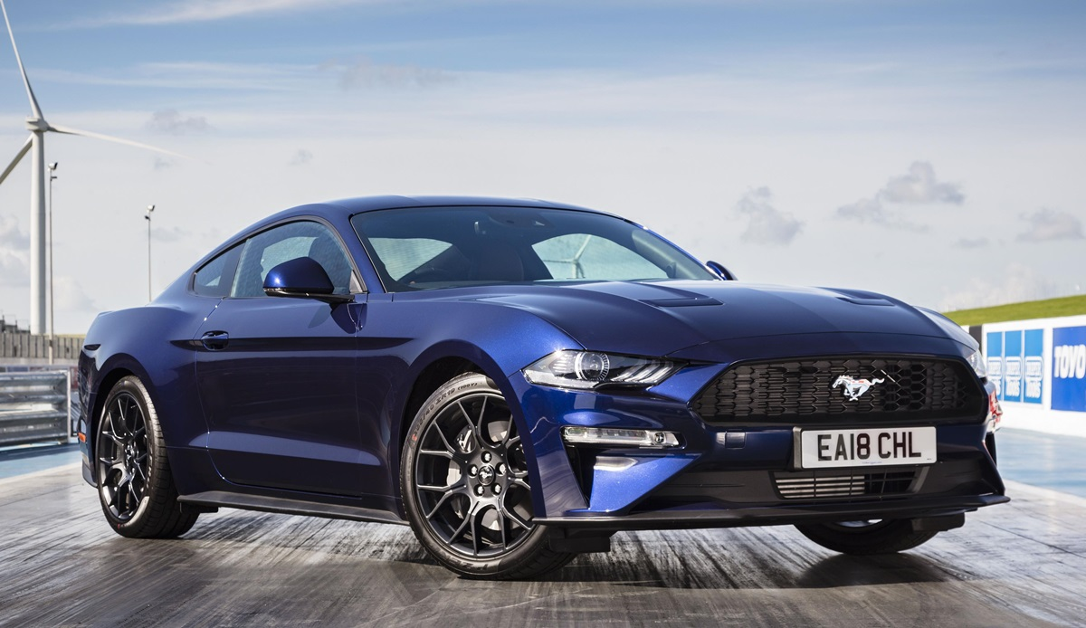 Uk spec ford mustang gets sweet upgrades for new modelyear