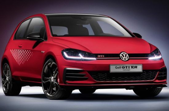 Volkswagen Golf GTI TCR Concept 0 550x360 at Golf GTI TCR Concept Unveiled, Packs 290 PS