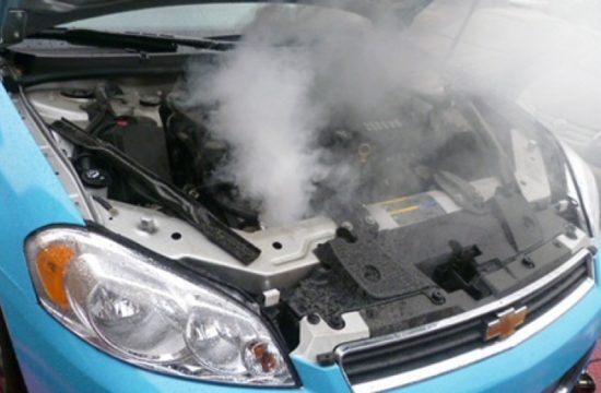car engine damage from overheating 550x360 at Common Reasons Why Your Car Engine Overheats
